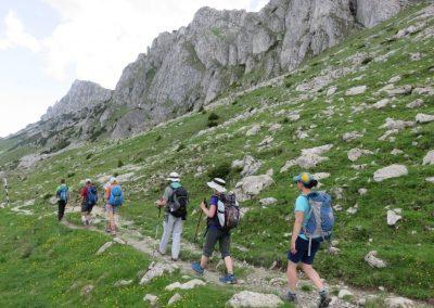 Marche sur les sentiers de Transylvanie
