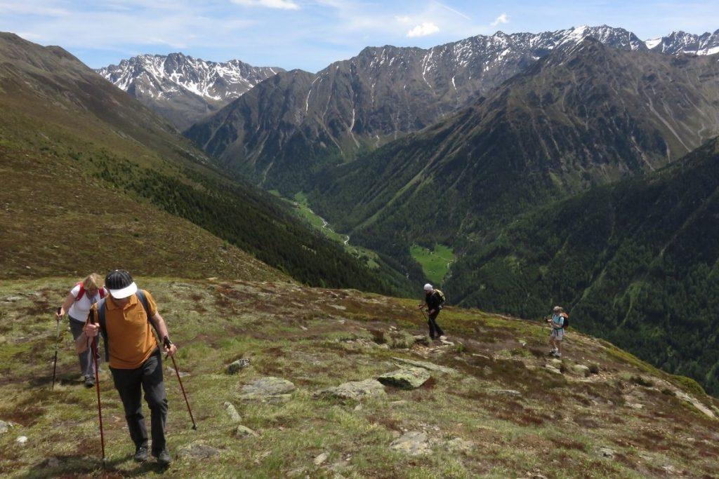 randonnée accompagnée dans le Tyrol en Autriche