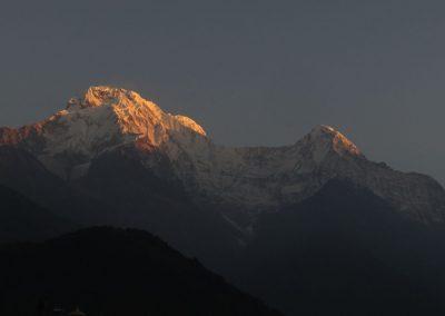 lever de soleil Annapurna népal