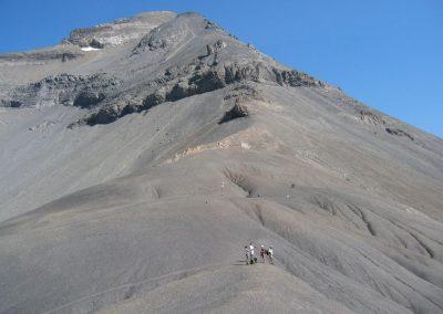 groupe sur la falaise