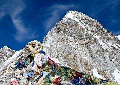 Vue sur le Mont Everest depuis Kala Pattar