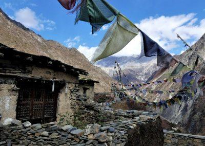 Le monastère de Mu Gumba, vallée de Tsum, Népal