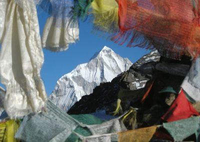 Vue sur l'Everest