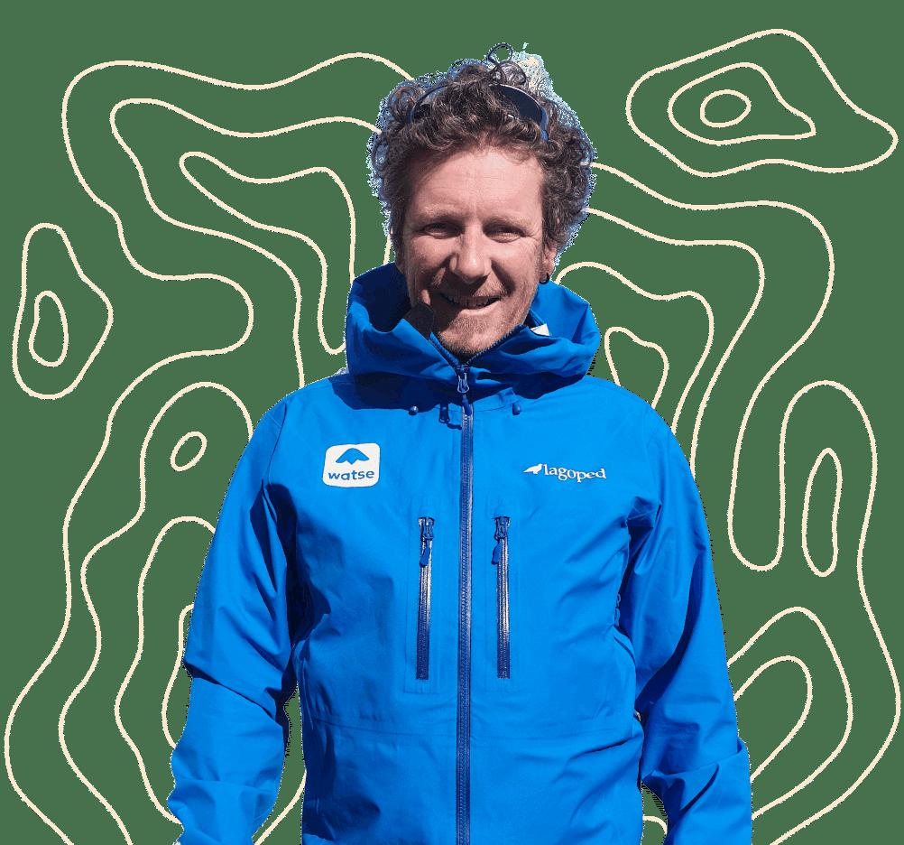 Sébastien, accompagnateur en montagne