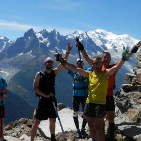 Tour du Mont Blanc en trail - 5 jours