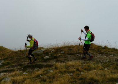 Traileurs sur les sentiers du Tour du Mont Blanc accompagné